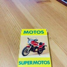 Barajas de cartas: BARAJA INFANTIL MOTOS, SUPERMOTOS, JUEGO DE CARTAS ANTIGUO, HERACLIO FURNIER, BARAJA DE CARTAS. Lote 247342200