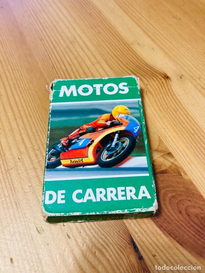 BARAJA INFANTIL MOTOS DE CARRERA, JUEGO DE CARTAS ANTIGUO, HERACLIO FURNIER, BARAJA DE CARTAS (Juguetes y Juegos - Cartas y Naipes - Barajas Infantiles)