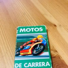 Barajas de cartas: BARAJA INFANTIL MOTOS DE CARRERA, JUEGO DE CARTAS ANTIGUO, HERACLIO FURNIER, BARAJA DE CARTAS. Lote 247342715