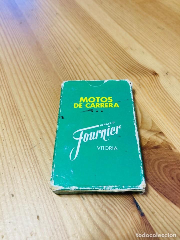 Barajas de cartas: Baraja infantil Motos de Carrera, juego de cartas antiguo, Heraclio Furnier, Baraja de cartas - Foto 2 - 247342715