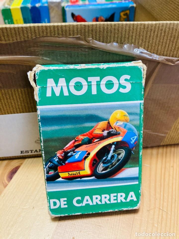 Barajas de cartas: Baraja infantil Motos de Carrera, juego de cartas antiguo, Heraclio Furnier, Baraja de cartas - Foto 3 - 247342715
