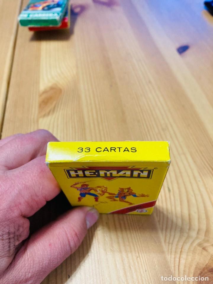 Barajas de cartas: Baraja infantil He-Man, juego de cartas antiguo, Heraclio Furnier, Baraja de cartas - Foto 3 - 247342875