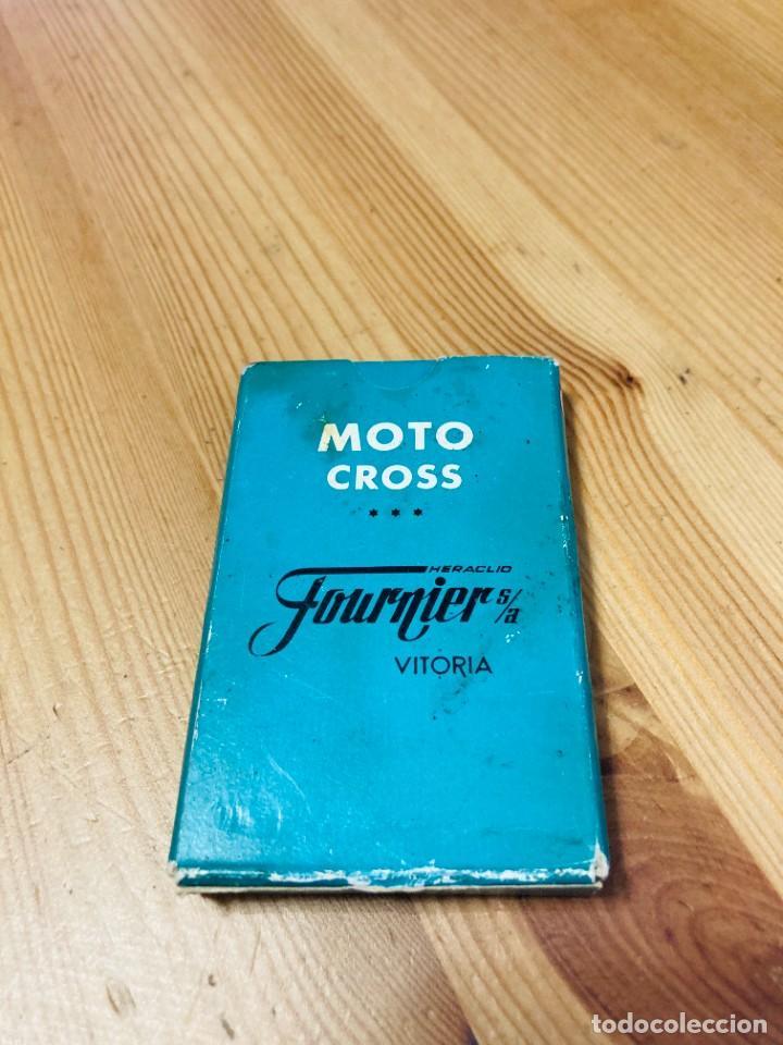 Barajas de cartas: Baraja infantil Moto Cross, juego de cartas antiguo, Heraclio Furnier, Baraja de cartas - Foto 2 - 247343375