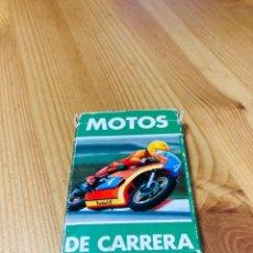 Barajas de cartas: BARAJA INFANTIL MOTOS DE CARRERA, JUEGO DE CARTAS ANTIGUO, HERACLIO FURNIER, BARAJA DE CARTAS. Lote 247343940