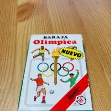 Barajas de cartas: BARAJA INFANTIL OLÍMPICA, JUEGO DE CARTAS ANTIGUO, HERACLIO FURNIER, BARAJA DE CARTAS. Lote 247355675