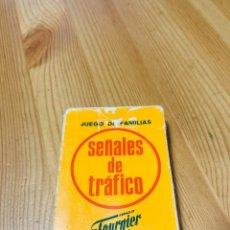 Barajas de cartas: BARAJA INFANTIL SEÑALES DE TRÁFICO, JUEGO DE CARTAS ANTIGUO, HERACLIO FURNIER, BARAJA DE CARTAS. Lote 247406165