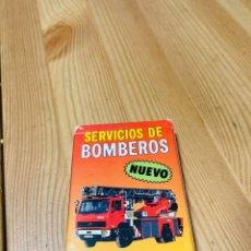 Barajas de cartas: BARAJA INFANTIL SERVICIO DE BOMBEROS, JUEGO DE CARTAS ANTIGUO, HERACLIO FURNIER, BARAJA DE CARTAS. Lote 247409165