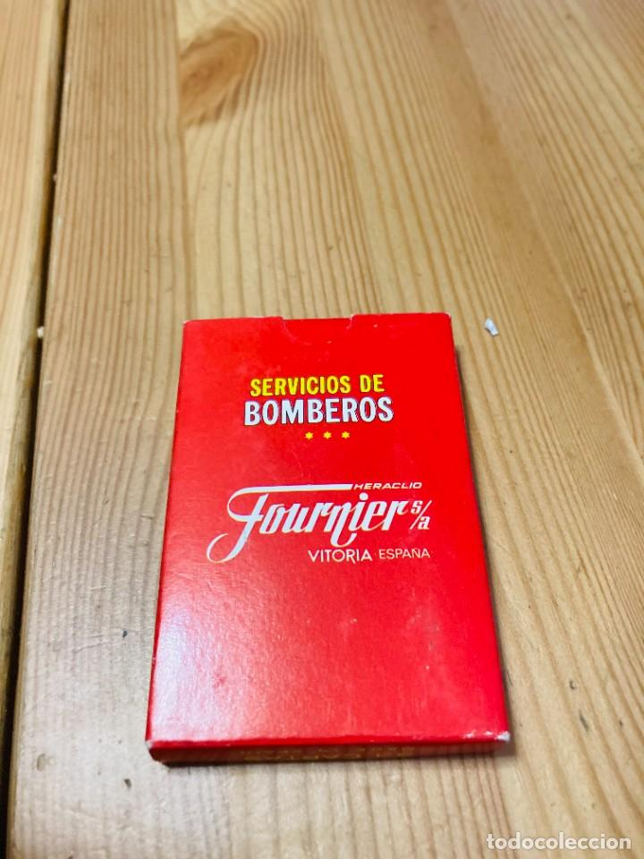 Barajas de cartas: Baraja infantil Servicio de Bomberos, juego de cartas antiguo, Heraclio Furnier, Baraja de cartas - Foto 2 - 247409165
