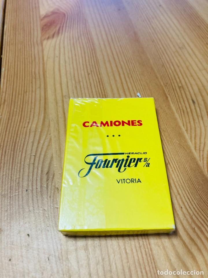 Barajas de cartas: Baraja infantil Camiones, juego de cartas antiguo, Heraclio Furnier, Baraja de cartas - Foto 2 - 247409600