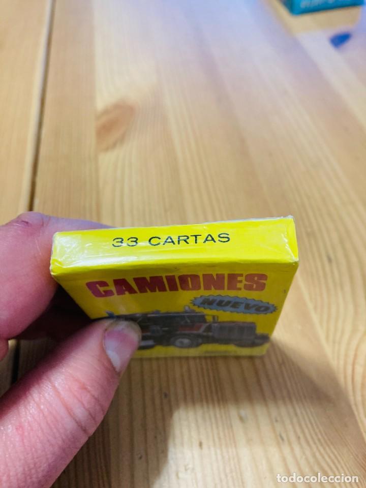 Barajas de cartas: Baraja infantil Camiones, juego de cartas antiguo, Heraclio Furnier, Baraja de cartas - Foto 3 - 247409600