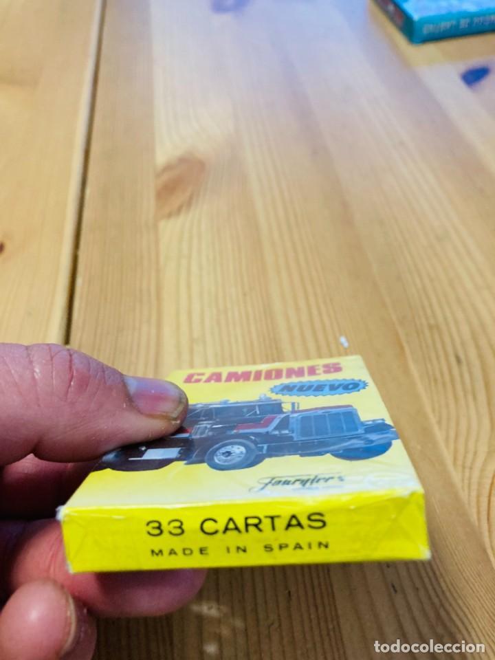 Barajas de cartas: Baraja infantil Camiones, juego de cartas antiguo, Heraclio Furnier, Baraja de cartas - Foto 4 - 247409600