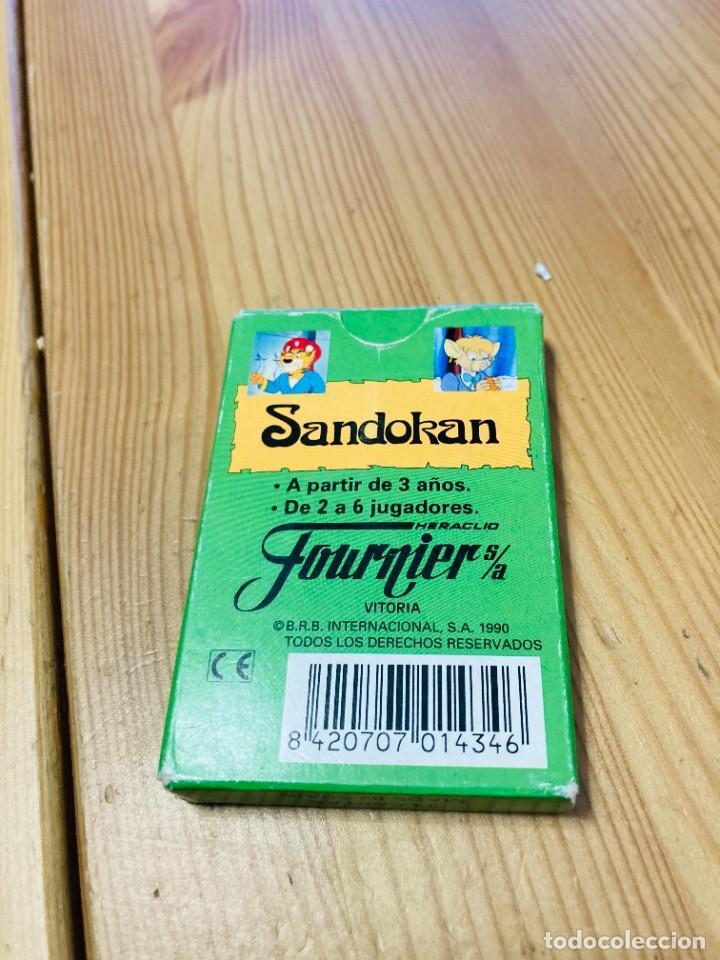 Barajas de cartas: Baraja infantil Sandokan, juego de cartas antiguo, Heraclio Furnier, Baraja de cartas - Foto 2 - 247410010