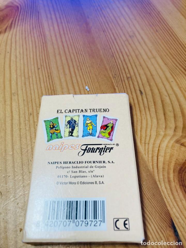 Barajas de cartas: Baraja infantil El Capitán Trueno, juego de cartas antiguo, Heraclio Furnier, Baraja de cartas - Foto 2 - 247410640