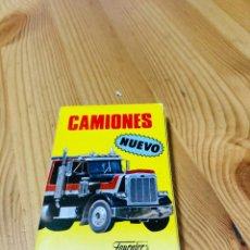Barajas de cartas: BARAJA INFANTIL CAMIONES, JUEGO DE CARTAS ANTIGUO, HERACLIO FURNIER, BARAJA DE CARTAS. Lote 247410895