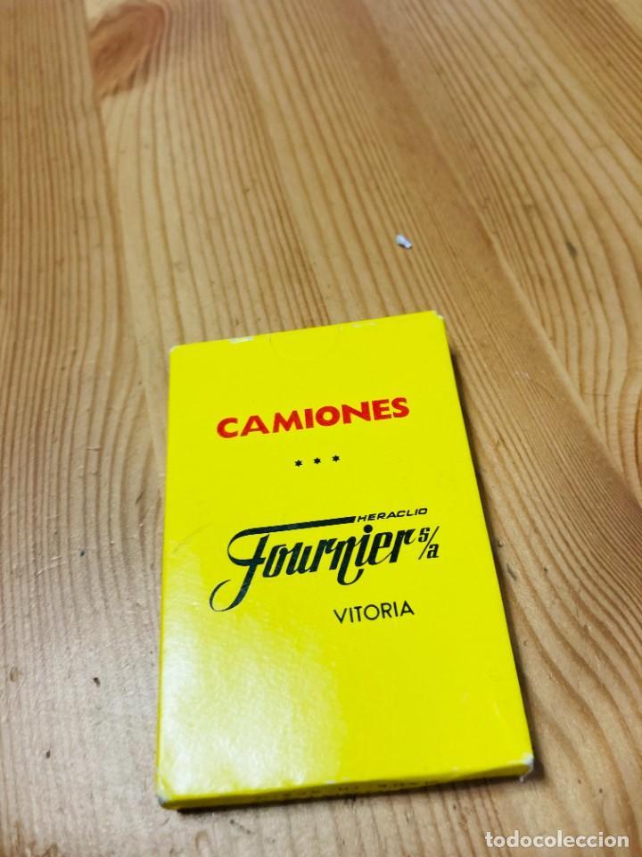 Barajas de cartas: Baraja infantil Camiones, juego de cartas antiguo, Heraclio Furnier, Baraja de cartas - Foto 2 - 247410895