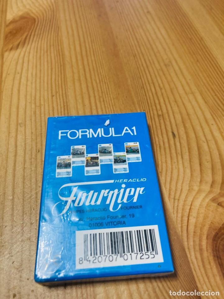 Barajas de cartas: Baraja infantil Fórmula 1, juego de cartas antiguo, Heraclio Furnier, Baraja de cartas - Foto 2 - 247411225