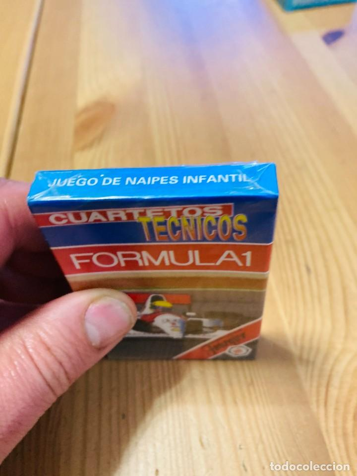 Barajas de cartas: Baraja infantil Fórmula 1, juego de cartas antiguo, Heraclio Furnier, Baraja de cartas - Foto 3 - 247411225