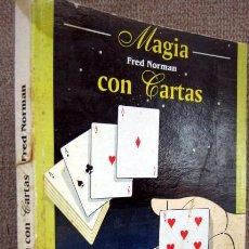 Mazzi di carte: MAGIA CON CARTAS, DE FRED NORMAN. Lote 247651500