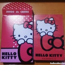 Barajas de cartas: CARTAS HELLO KITTY. Lote 247687560