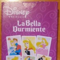 Barajas de cartas: CARTAS LA BELLA DURMIENTE DISNEY. Lote 247688190