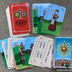 Jeux de cartes: NAIPE ESPAÑOL - JUEGO DE BARAJA 50 CARTAS - AYUNTAMIENTO DE LORCA (MURCIA). Lote 248022295