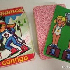 Barajas de cartas: BARAJA INGANTIL FOURNIER, CONTAMOS CONTIGO. Lote 248124515