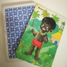 Barajas de cartas: BARAJA INFANTIL PAREJAS DEL MUNDO ANTIGUA INCOMPLETA. Lote 248212400