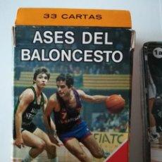 Jeux de cartes: JUEGO BARAJA DE CARTAS ASES DEL BALONCESTO - COMPLETA. Lote 248821710