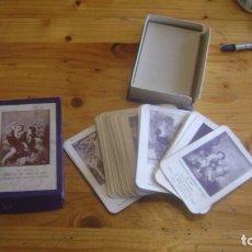 Barajas de cartas: CUARTETO BARAJA JUEGO DE CARTAS NAIPES DE OBRAS DE ARTE AÑOS 40 VER FOTOS ESTCARTAS. Lote 248832320