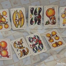 Barajas de cartas: 9 NAIPES DE BARAJA PRODUCTOS CHURRUCA,EN BUEN ESTADO. Lote 249001720