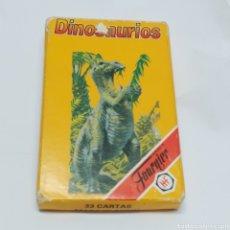 Barajas de cartas: BARAJA DE CARTAS HERACLIO FOURNIER, DINOSAURIOS. AÑO 1993. COMPLETA.. Lote 249004415