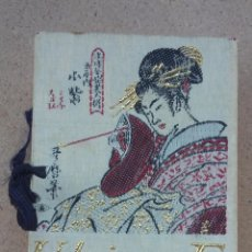 Jeux de cartes: BARAJA PÓKER JAPÓN UKIYO-E (GRABADOS JAPONESES). Lote 249343310