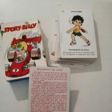 Mazzi di carte: BARAJA INFANTIL SPORT BILLY. FOURNIER. COMPLETA. Lote 249427135