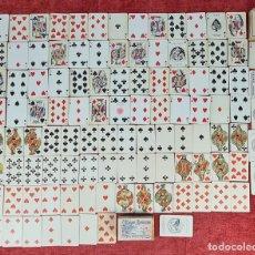 Barajas de cartas: PAREJA DE BARAJAS DE CARTAS DE POKER. FOURNIER Y GRIMAUD. CIRCA 1940.. Lote 249477890