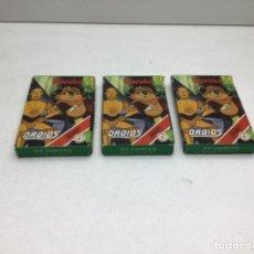 Barajas de cartas: LOTE DE TRES JUEGOS DE CARTAS EWOKS DROIDS - STAR WARS HERACLIO FOURNIER. Lote 249543225