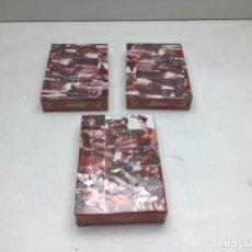 Barajas de cartas: LOTE DE TRES JUEGOS DE CARTAS PUBLICIDAD AUTOMOBILES Y VESPA - HERACLIO FOURNIER. Lote 249548665