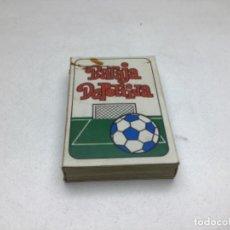 Barajas de cartas: JUEGO DE CARTAS DE FUTBOL. Lote 249550240