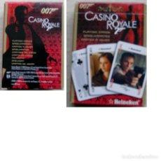 Barajas de cartas: BARAJA POKER CASINO ROYALE 007. HEINEKEN. CARTAMUNDI, BÉLGICA.. Lote 249561415