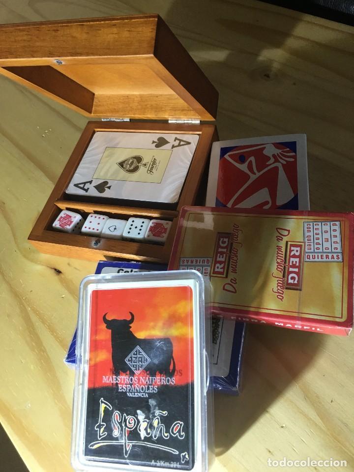 BARAJAS DE CARTAS DE VARIOS FABRICANTES (Juguetes y Juegos - Cartas y Naipes - Otras Barajas)