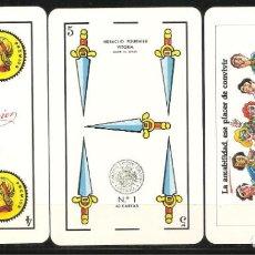Barajas de cartas: BARAJA, BANCO GUIPUZCOANO, FOURNIER, NUEVA. Lote 250255080