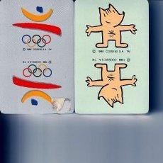 Barajas de cartas: BARAJAS POKER JUEGOS OLIMPICOS BARCELONA 92 Y COBI. Lote 251008540