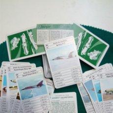 Barajas de cartas: BARAJA FOURNIER AVIONES Y HELICOPTEROS. Lote 251273410