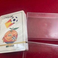 Mazzi di carte: BARAJA FOURNIER, MUNDIAL ESPAÑA 82, PRECINTADA. NAIPES O CARTAS. NARANJITO. Lote 251500985