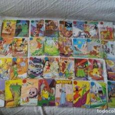 Barajas de cartas: LOTE DE 34 CARTAS SUELTAS. BARAJA PETER PAN. FOURNIER. DISNEY.. Lote 251775080