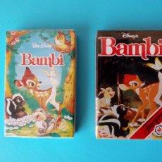 Barajas de cartas: LOTE 2 BARAJAS, BAMBI - FOURNIER , NUEVA PRECINTADA!!!- ERICTOYS. Lote 251906965