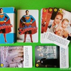 Jeux de cartes: BARAJA SUPERMAN - FOURNIER NUEVA A ESTRENAR - ERICTOYS. Lote 251909530