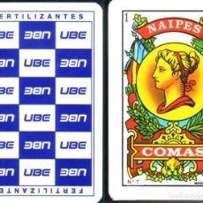 Barajas de cartas: FERTILIZANTES UBE - BARAJA ESPAÑOLA 50 CARTAS. Lote 251994940