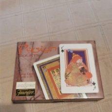 Barajas de cartas: BARAJA PERSIAN COURTS. Lote 252042490