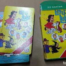 Barajas de cartas: LULU LITTLE PEQUEÑA FOURNIER H BARAJA 1984 COMPLETA. Lote 252065215
