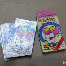 Barajas de cartas: BARAJA LA PANTERA ROSA FOURNIER. AÑO 1983 COMPLETA. Lote 252066285